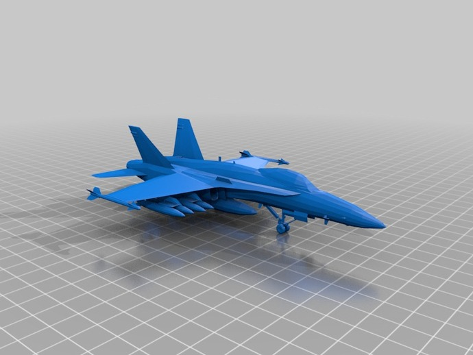 mc donnel fighter plane by jarred1997  Thingiverse