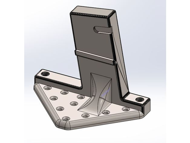 AR15 vertical wall storage mount  Large Mount by