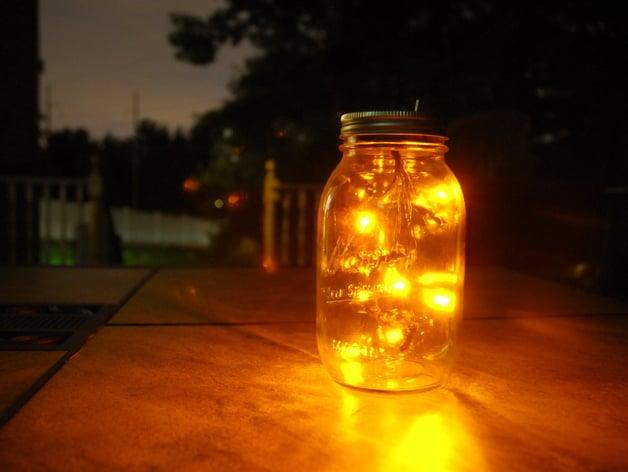 Firefly Jar by neilmac  Thingiverse