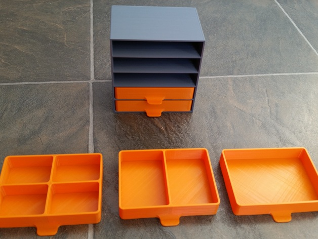 Parts Tray Drawers by FatalError3141  Thingiverse