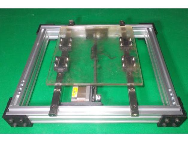 092 DIY Y Axis Slide Aluminium Frame For Homemade 3D