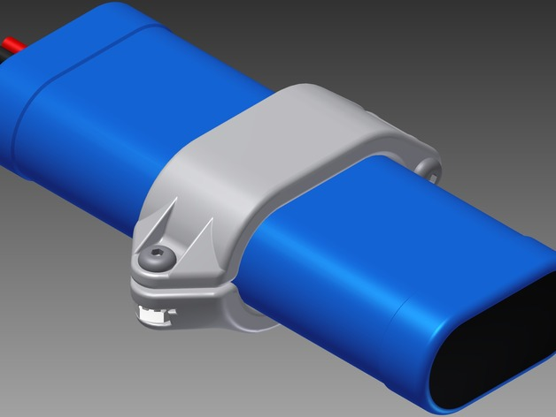 Vex Battery Holder Quotzev Tiesquot By Stuffstuff Thingiverse