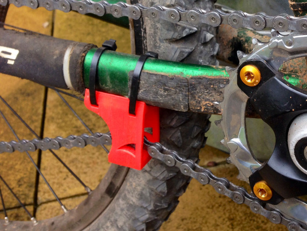 Bike Chain Guide  Tensioner by RossHaddow  Thingiverse