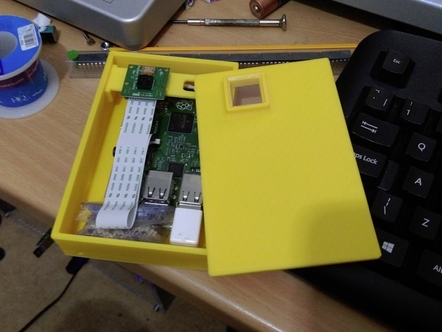 Raspberry Pi Waterproof Camera Case by NikDak  Thingiverse