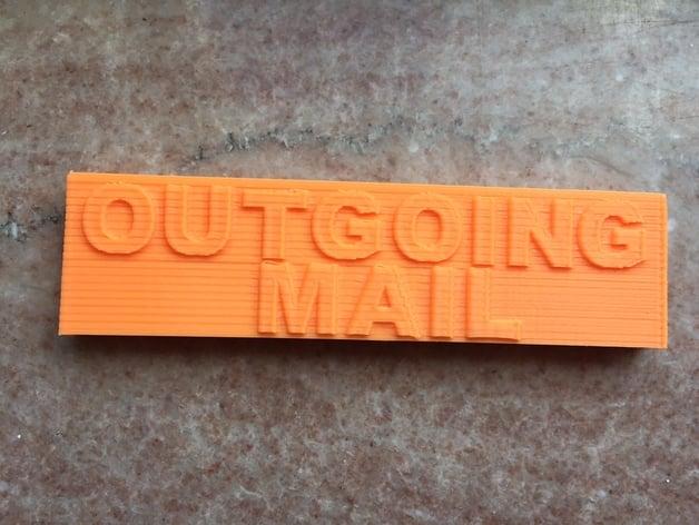 wall mount mail box