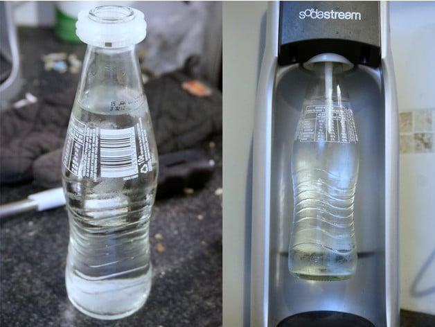 SodaStream Glass Soda Bottle Adapter by Bluebie  Thingiverse