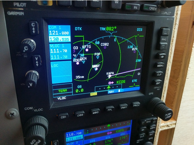 Garmin Gns 530 Flight Simulator Hardware Interface By