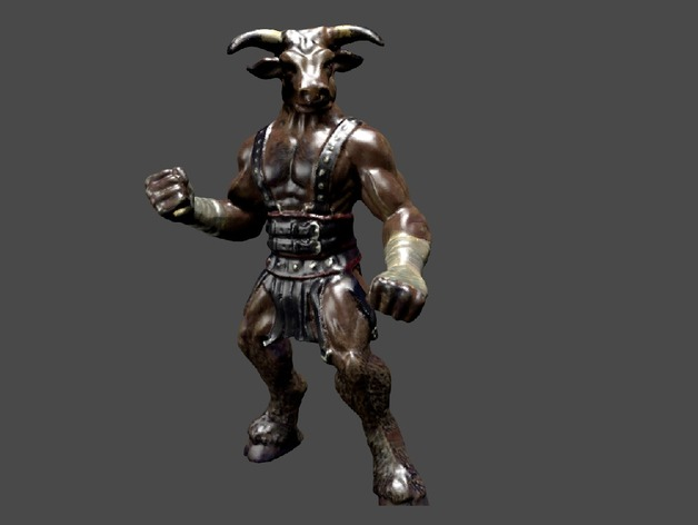 3d All Wallpaper Free Download Minotaur By Ajolivette Thingiverse
