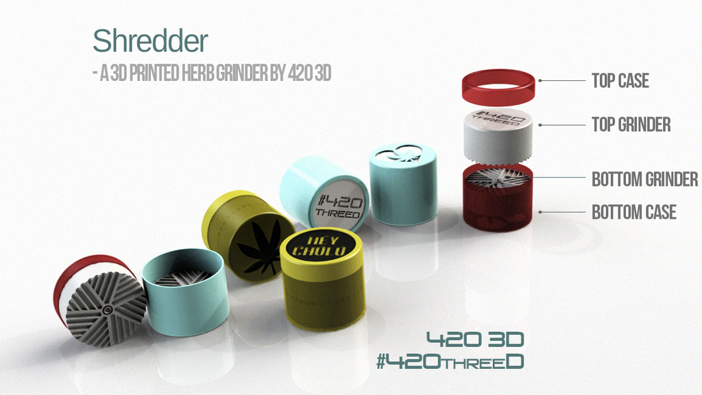 toothless herb grinder by