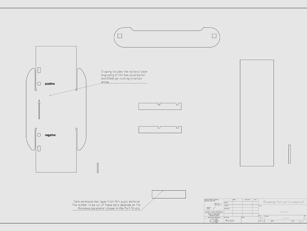 Parametric Gel Electrophoresis System by MakerTobey