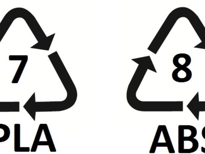 Recycling Symbols by MakerBlock  Thingiverse