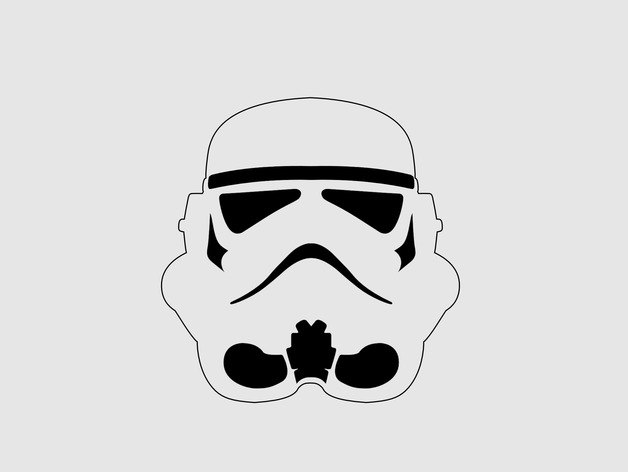 Storm Trooper cookie cutter by koshpavel  Thingiverse