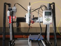 LEGO Mindstorms 3D Printer by cyruscuenca - Thingiverse