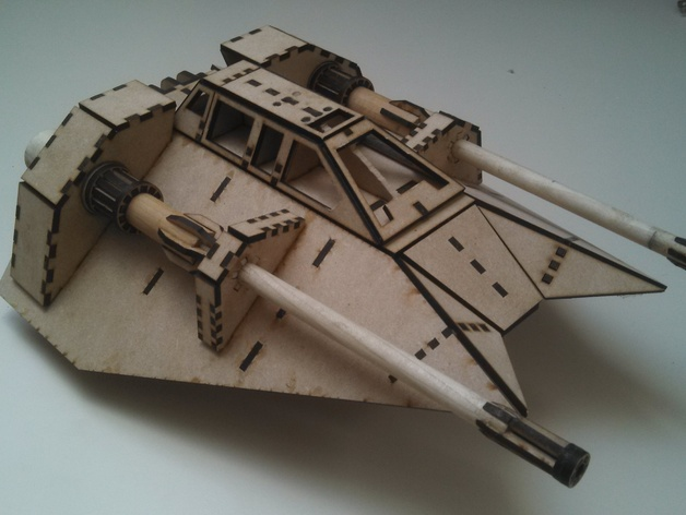 Star Wars Snowspeeder By Breakfastsandwich Thingiverse