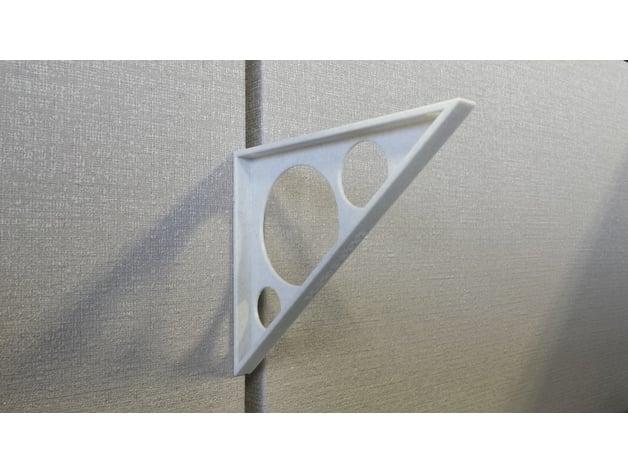 Cubicle Shelf Bracket By Smithy2 Thingiverse