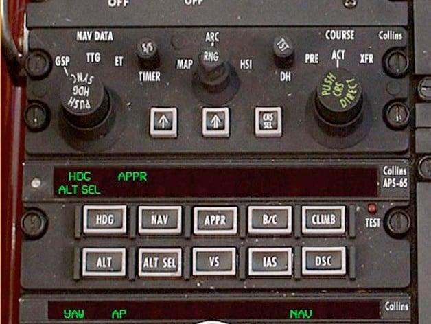 altitude set  autopilot APS65 APC65 Collins  beechcraft b200 by revolution07  Thingiverse