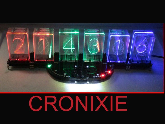 CRONIXIE the LED Nixie clock  WS2812 CRONIOS Modul by
