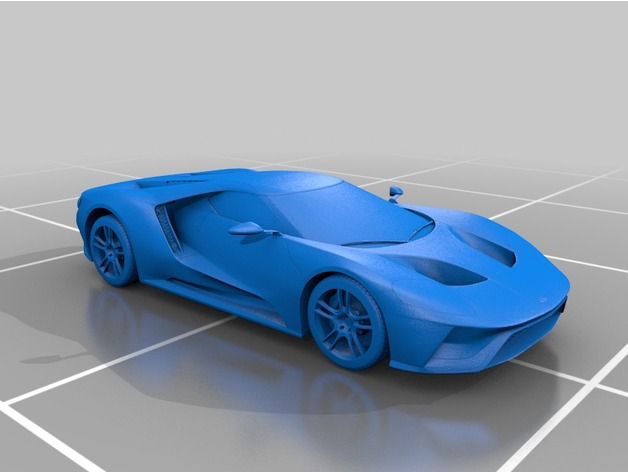 Ford GT 2017 By Stunner2211 Thingiverse