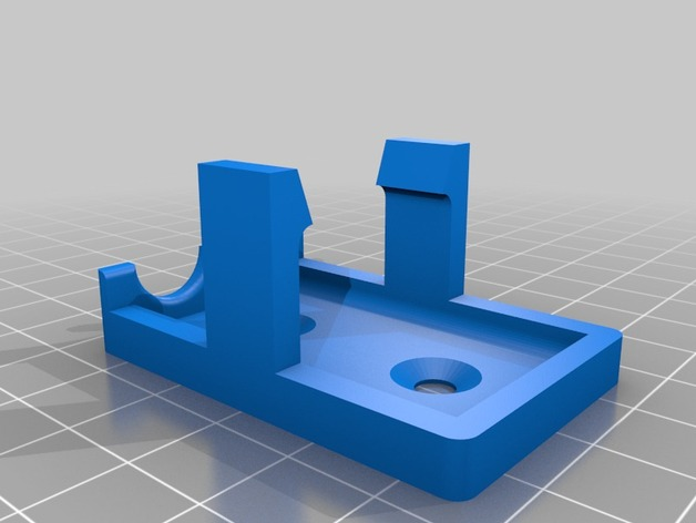 Simple 9V Battery holder by ahmetcemturan  Thingiverse