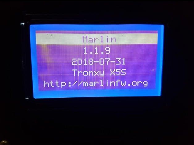 Tronxy X5S Marlin 119 by kajiab  Thingiverse