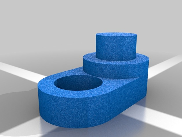 Toilet Paper Holder Extension by kartstig  Thingiverse