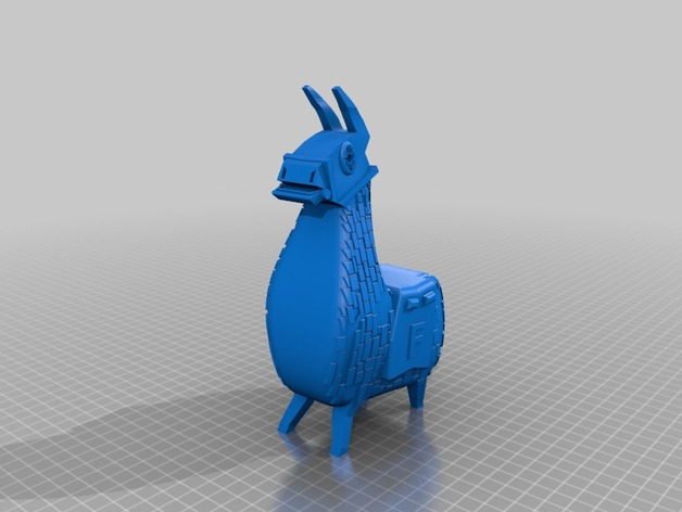 Key ring Fortnite Lama by decaPeter  Thingiverse