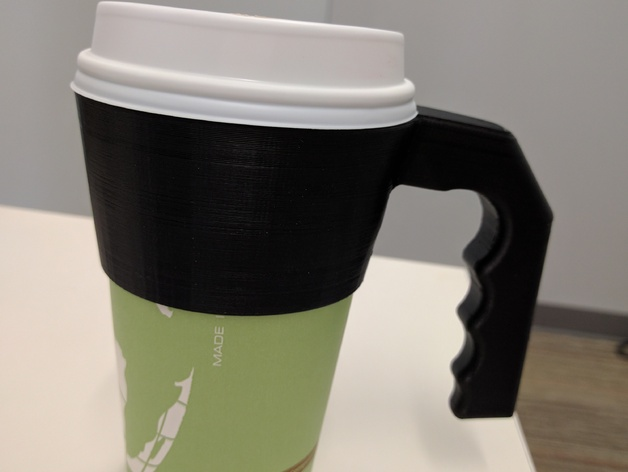Paper Cup Handle by srfin  Thingiverse