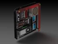 Wall Mount PC CASE | AwesomeCAD | by AwesomeCAD - Thingiverse