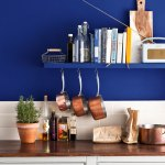Inspiration Napoleonic Blue Kitchen Annie Sloan