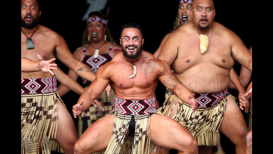 The Maori people have many traditions  their signature m