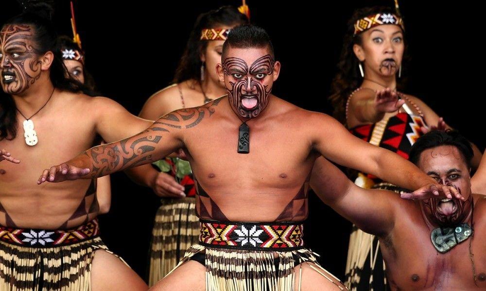 Haka the indigionas peoples dance maori new Zealand Redi