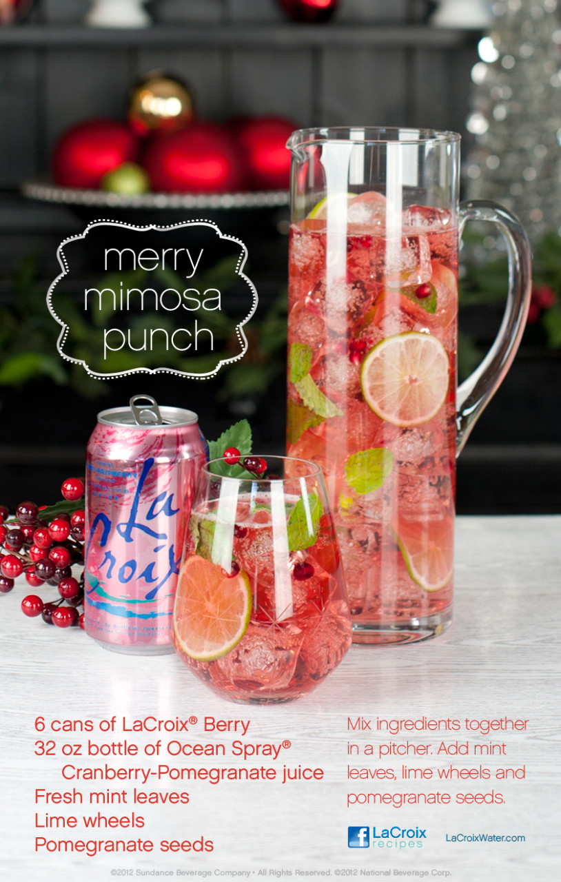 Lacroix Merry Mimosa Punch