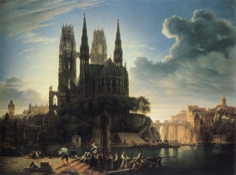 Medieval Gothic Cathedral