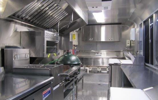 Fryer Conveyor Oven Stove Top Prep Station Ventilatio