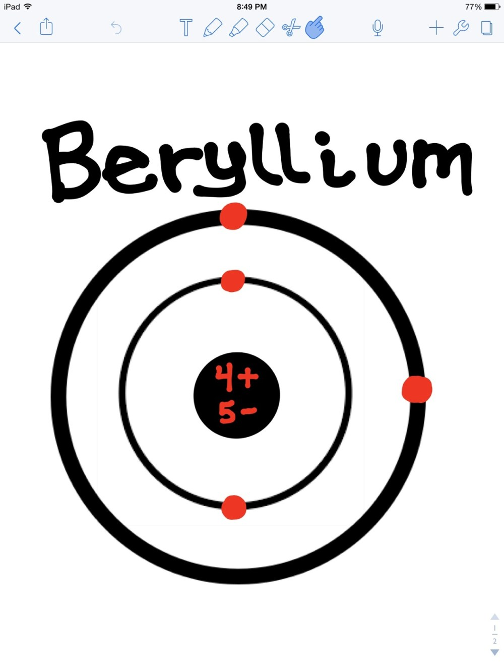 medium resolution of beryllium bohr model bohr diagram for all elements berylium bohr diagram