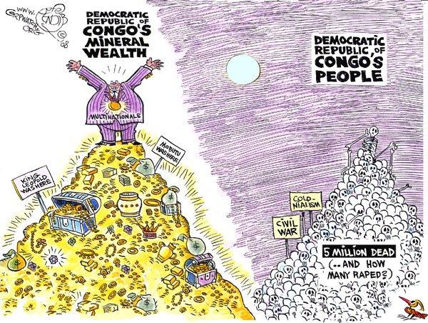 Congo Political Cartoon Analysis