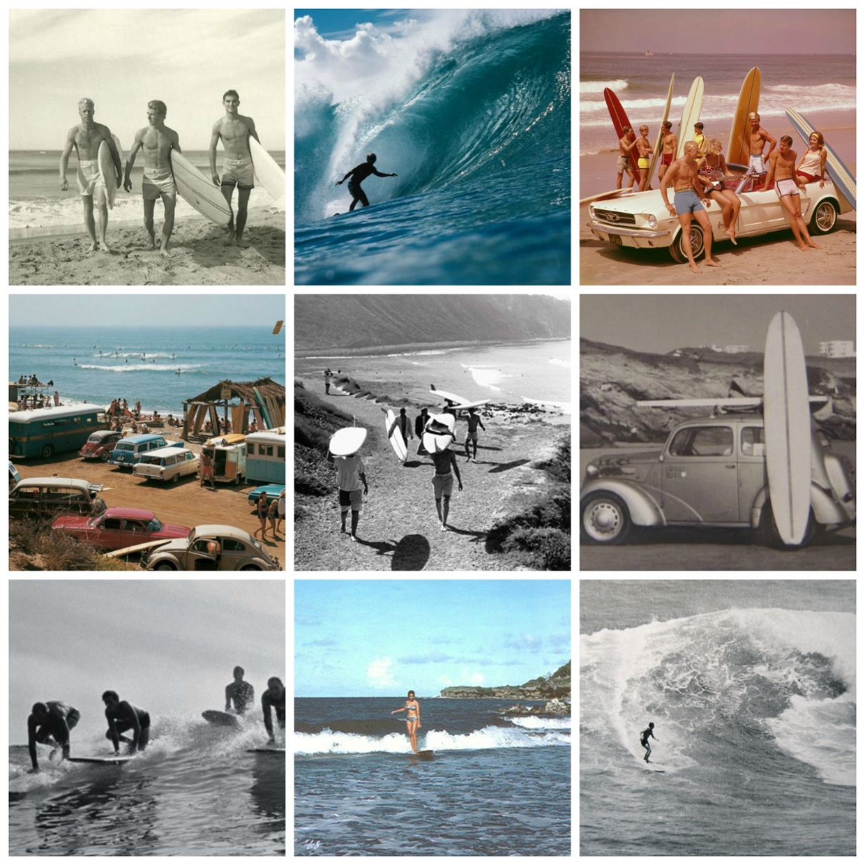 Surf culture in the 60's