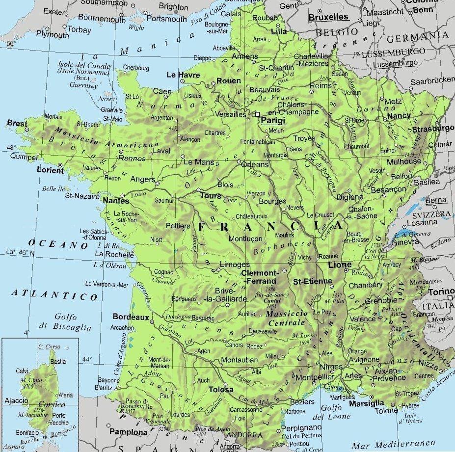 Le Città Della Francia