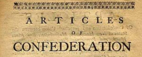 The Articles of Confederation was the first governing doc...