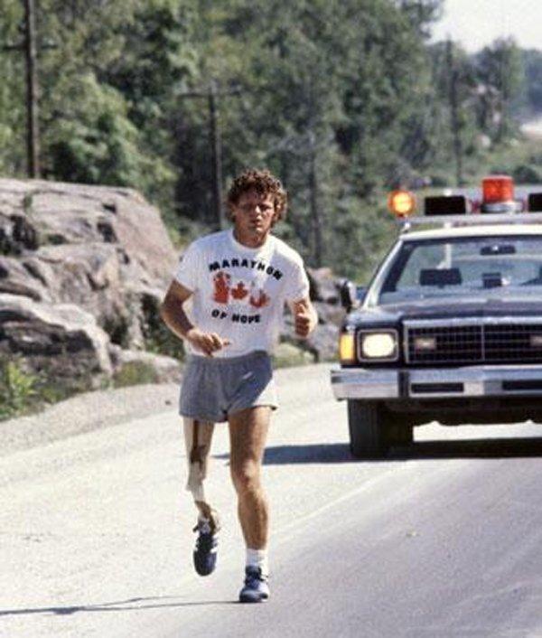 Terry Fox--Marathon of Hope