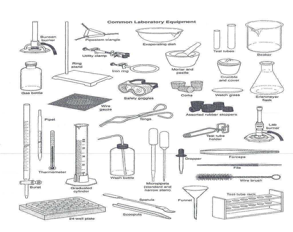 List safety equipment science [ 812 x 1024 Pixel ]