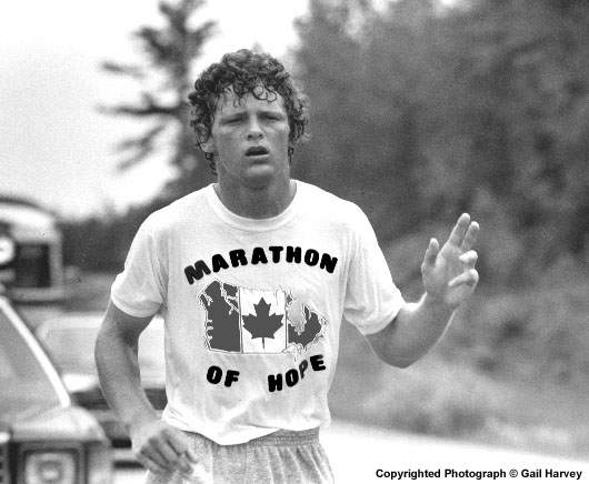 Terry Fox run/walk September 27 - a few details