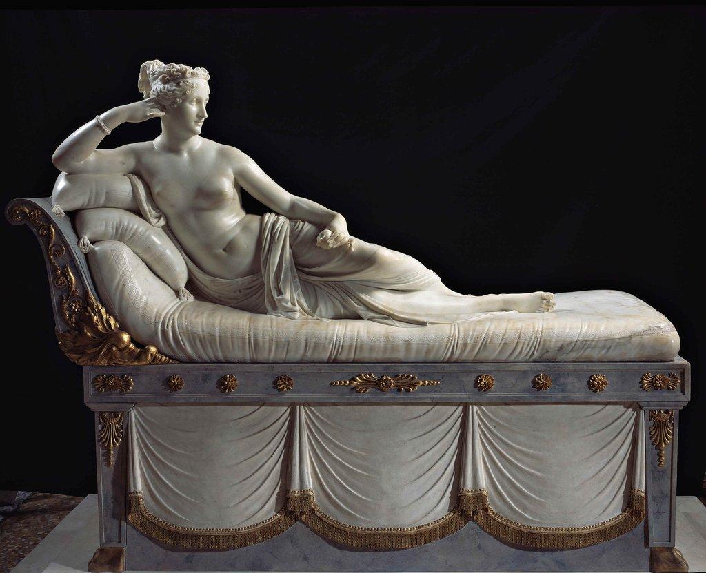 Canova Paolina Borghese 1805 1808