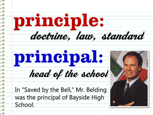 Principle Meaning:A rule or belief governing one's person...