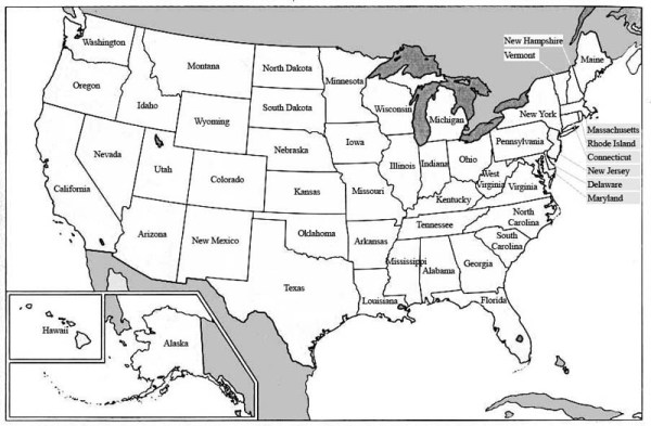 You can learn about the the fifty states