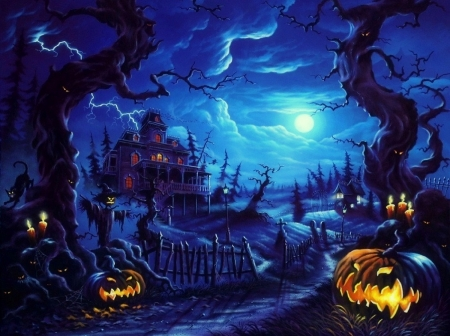 Fall Wallpaper 4d Hallowen