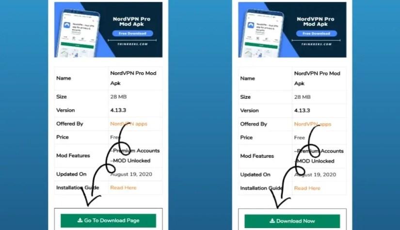 nordvpn premium account apk
