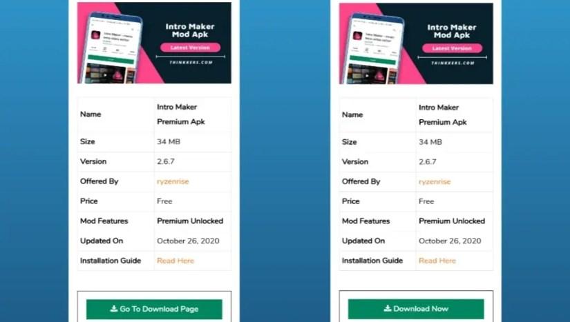 Download Intro Maker Mod Apk