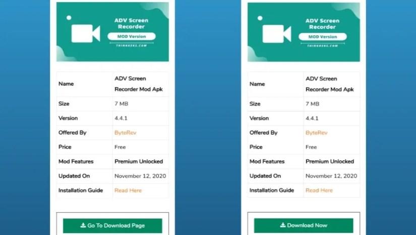 Download ADV Screen Recorder Mod Apk