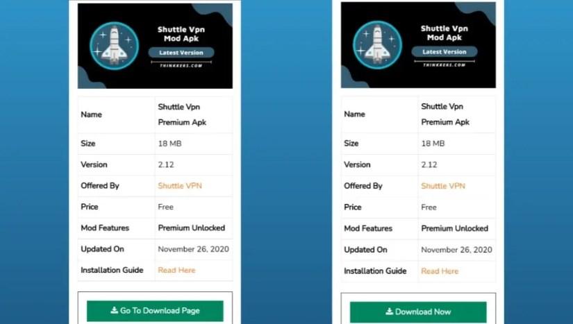 Download Shuttle Vpn Mod Apk